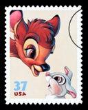 Bambi Postage Stamp ilustración del vector