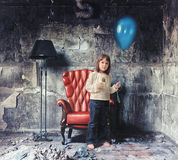 Bambina Fotografie Stock