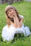 Bambina. Fotografia Stock