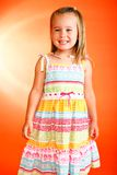 Bambina adorabile Fotografie Stock Libere da Diritti