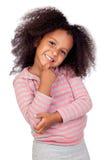 Bambina africana Pensive Fotografia Stock Libera da Diritti