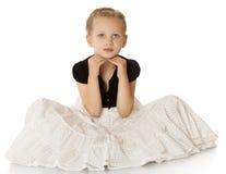 Bambina alla moda Immagine Stock Libera da Diritti