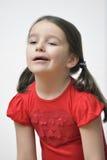 Bambina annoiata Immagini Stock Libere da Diritti