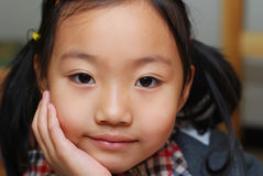 Bambina asiatica Fotografia Stock