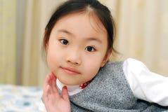 Bambina asiatica Fotografie Stock