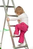Bambina attiva Immagini Stock