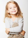 Bambina bella Fotografie Stock