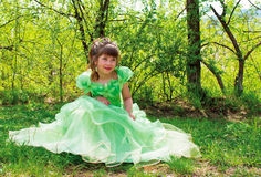 Bambina bella Immagini Stock Libere da Diritti
