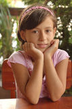 Bambina cara Fotografia Stock Libera da Diritti