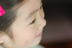 Bambina cinese Fotografie Stock