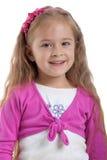 Bambina con capelli lunghi Fotografia Stock