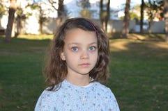 Bambina con gli occhi azzurri 8 Immagini Stock Libere da Diritti