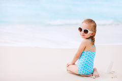 Protezione di Sun Immagine Stock