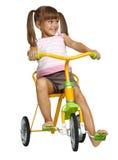 Bambina con le code Fotografie Stock