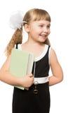 Bambina con un libro Immagini Stock Libere da Diritti