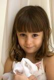 Bambina del ritratto Immagini Stock