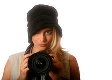 Bambina della foto Fotografie Stock