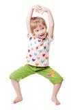 Bambina di divertimento Immagine Stock Libera da Diritti