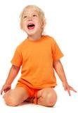 Bambina di grido Immagini Stock Libere da Diritti
