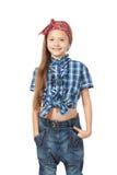 Bambina di modo Fotografia Stock Libera da Diritti