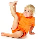 Bambina divertente Fotografia Stock Libera da Diritti