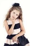 Bambina elegante Fotografia Stock Libera da Diritti
