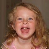 Bambina felice Fotografia Stock Libera da Diritti