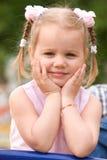 Bambina felice Immagine Stock