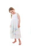 Bambina felice sveglia Immagini Stock