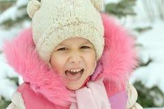 Bambina graziosa Fotografie Stock