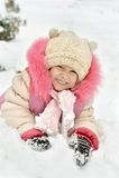 Bambina graziosa Fotografie Stock Libere da Diritti