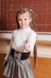 Bambina nell'aula Fotografie Stock