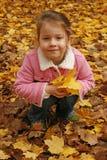 Bambina nella sosta Fotografia Stock Libera da Diritti