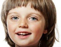 Bambina quattro anni Fotografie Stock Libere da Diritti