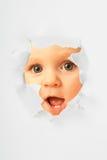 Bambina sorpresa Fotografie Stock Libere da Diritti