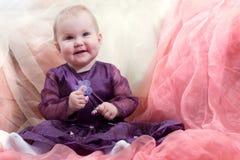 Bambina sorridente Immagine Stock
