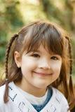 Bambina sorridente Fotografia Stock