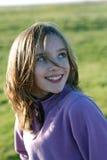 Bambina sorridente Immagini Stock Libere da Diritti