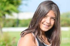 Bambina sorridente Fotografia Stock Libera da Diritti