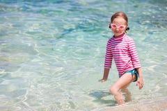 Bambina sulla vacanza Fotografie Stock