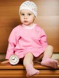 Bambina sveglia Immagini Stock
