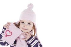 Bambina sveglia Immagine Stock