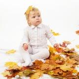 Bambina sveglia Fotografie Stock