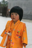Bambina a Tokyo Fotografie Stock