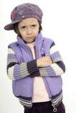 Bambina triste Fotografie Stock Libere da Diritti