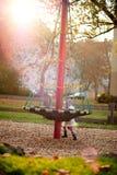 Bambina in una sosta Fotografie Stock Libere da Diritti