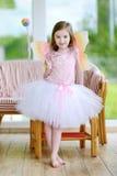 Bambina vestita come Fairy Fotografie Stock Libere da Diritti
