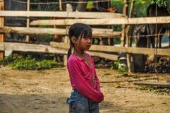 Bambina vietnamita fotografia stock