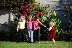 Bambine Fotografia Stock Libera da Diritti