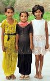 Bambine sorridenti Fotografia Stock